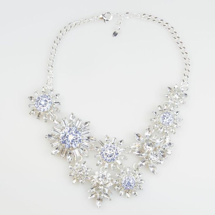 Newbridge eShe Blue Floral Neckpiece