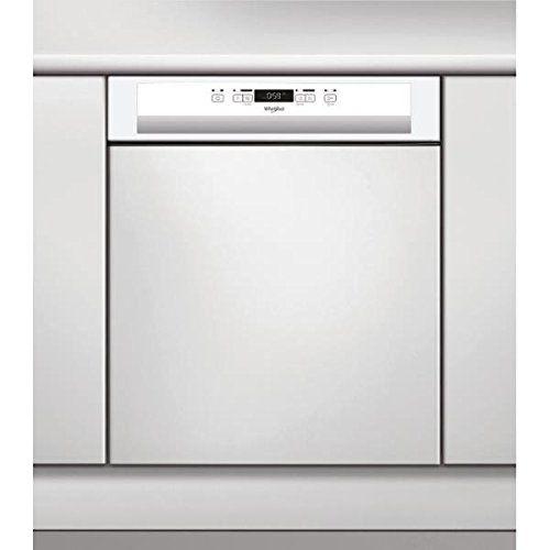 Whirlpool – Lave-vaisselle encastrable WHIRLPOOL WBC3C26: Ce lave-vaisselle est doté du programme 6ème Sens qui adapte les paramètres pour…