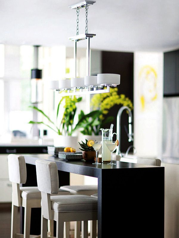 trendy kitchen ligthing designs