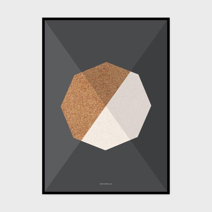 Kork 3 - plakat fra bentzenberg.dk Cork Poster