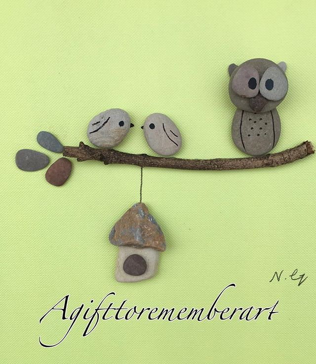 SOLD! #agifttorememberart #pebbleart #instaartist #instaphoto #instaart #giftshop #gift #handmadewithlove #owl #birds #frame #makersgonnamake #etsy #etsyseller #nature #roomdecor #beach #australia #unique #artwork #interiordesign ##etsyau #madebyme #mumswhomake #originaldesign #craft #stones
