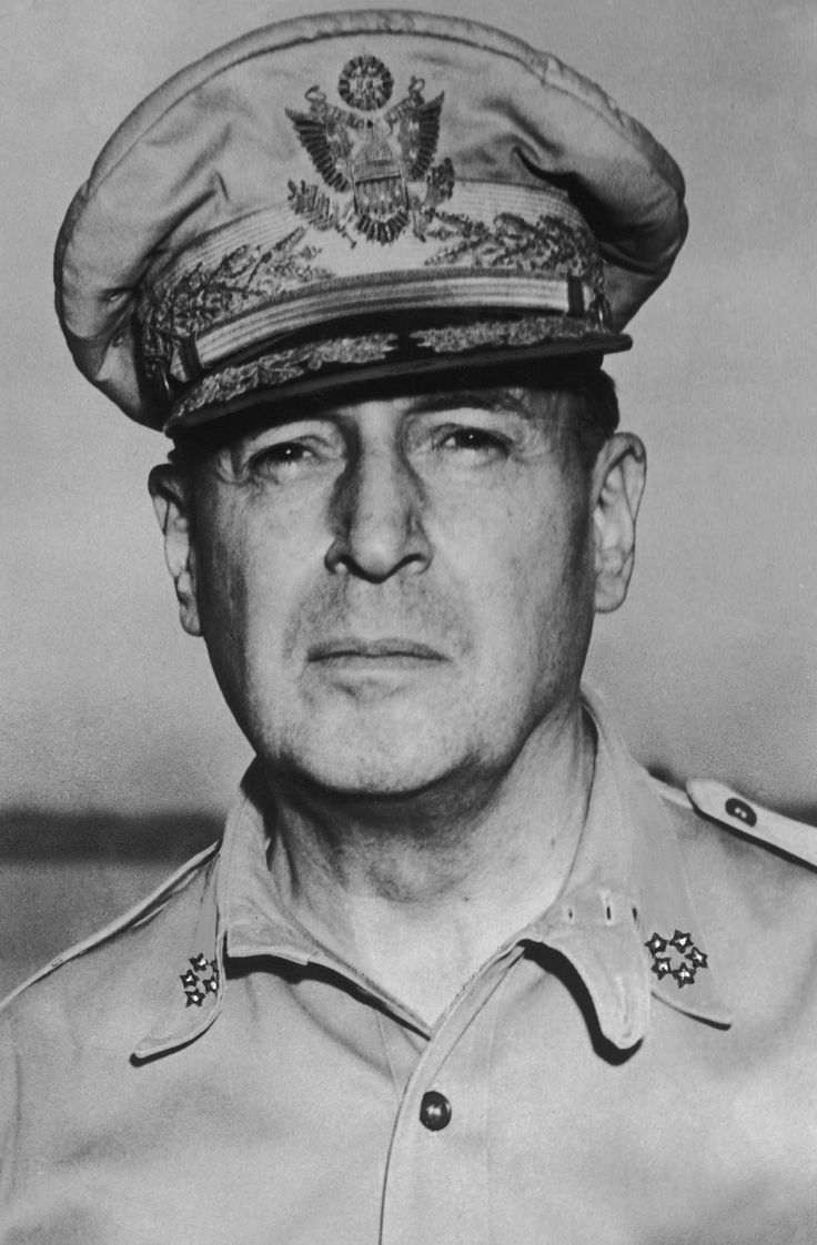 General Douglas MacArthur  General of the Army was an American general and field marshal of the Philippine Army who was Chief of Staff of the United States Army during the 1930s and played a prominent role in the Pacific theater during World War II.