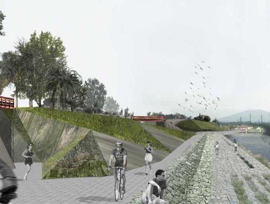 Galería de En Construcción Noticias: MOP revela imágenes del parque fluvial río Mapocho - 1