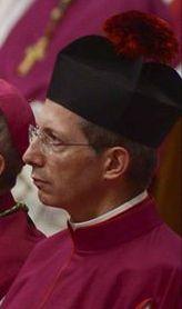 Mons. Guido Marini -- [detail] -- Facebook -- https://www.facebook.com/DonGuidoMarini