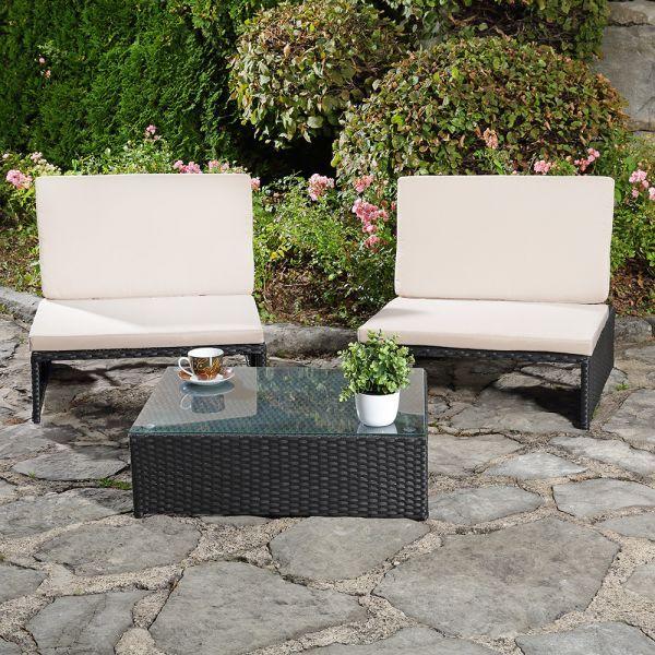 Polyrottinkituolit - ja pöytä, 459,95€. Ilmainen toimitus! #pihatuoli #tuoli #polyrottinki