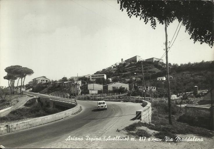 ARIANO IRPINO - Via Maddalena - Anni '60