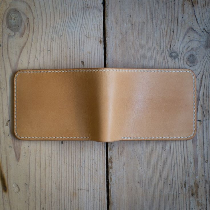 'Borr' Bifold Wallet - Natural via NORDIC DISTRICT. Click on the image to see more!