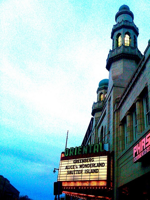 The Oriental Theater by massdistraction, via Flickr