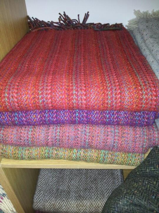 EddieDohertys hand woven textiles Adara Donegal