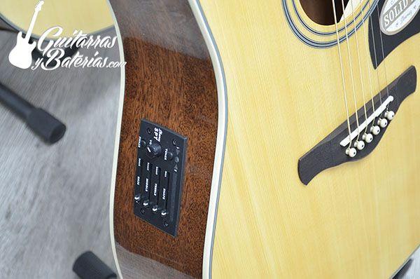 Guitarra Electroacústica Ibanez AW70CE