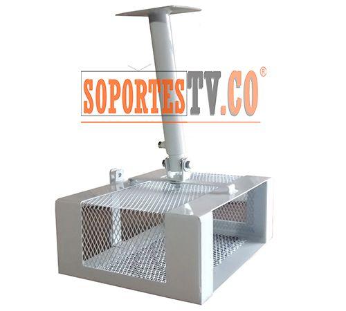 soporte de canastilla para video beam soporte de techo video proyector canastilla de seguridad
