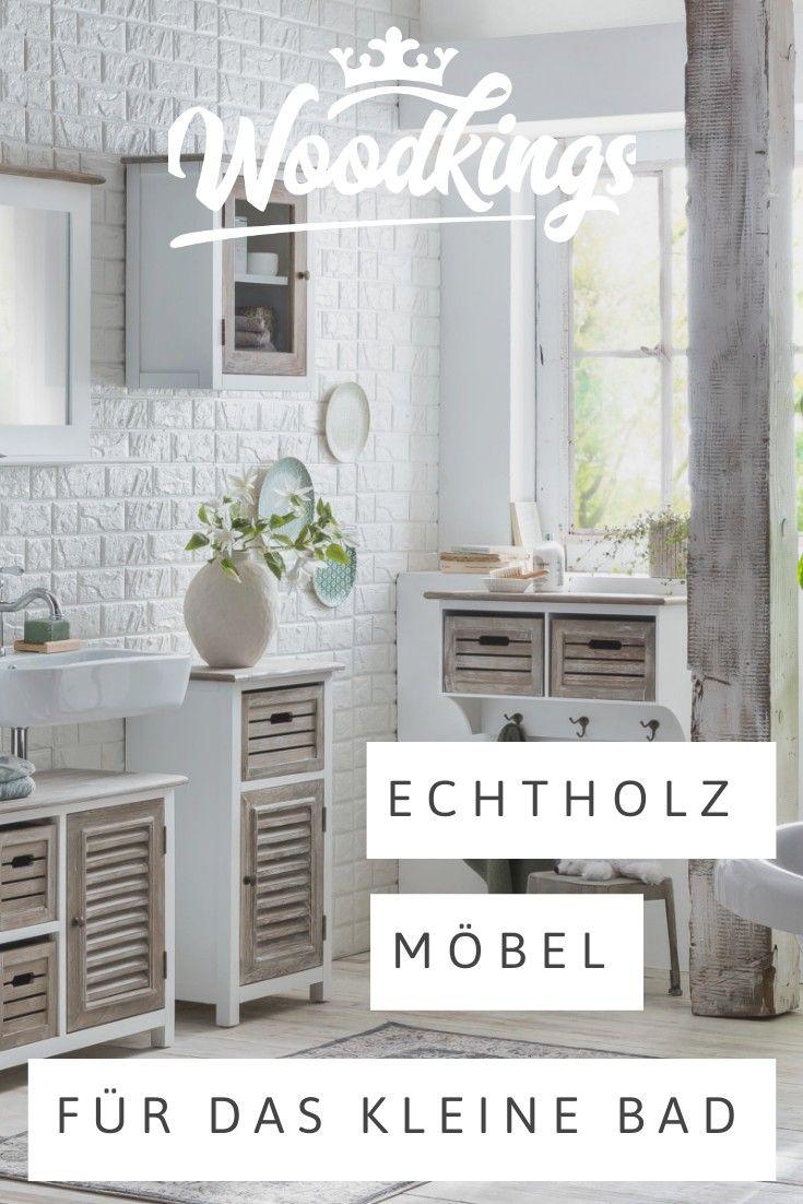 Echtholz Badmobel Im Landhausstil Mit Unsere Serie Kansas Haben