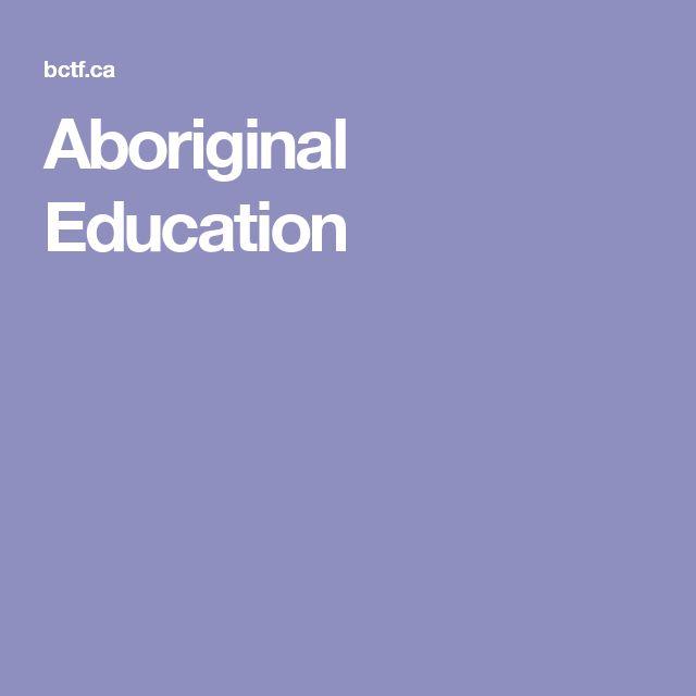 Aboriginal Education