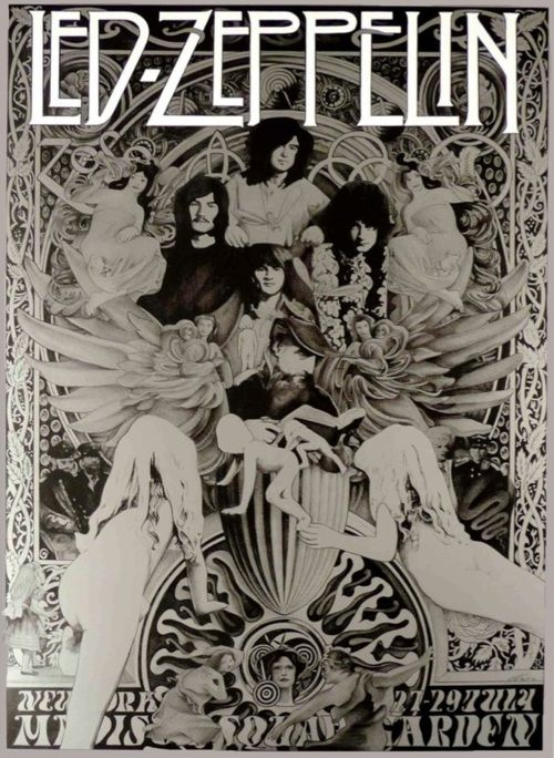 http://custard-pie.com/ Led Zeppelin poster