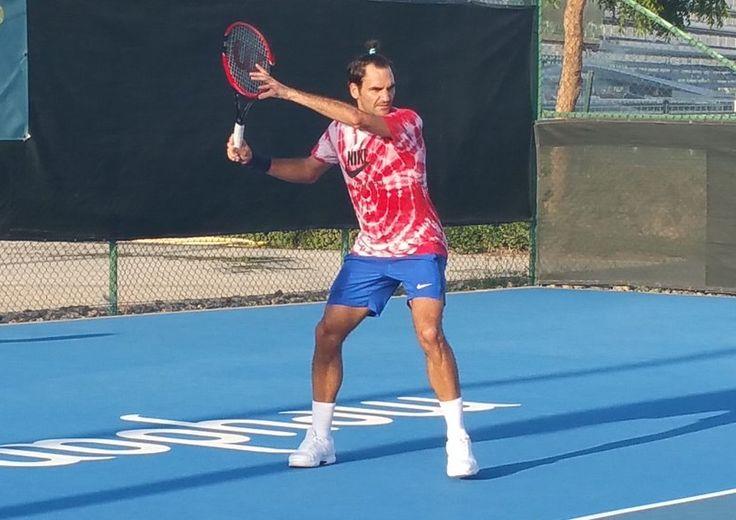 "rfederer2: ""Roger Federer doing the Mannequin Challenge. """