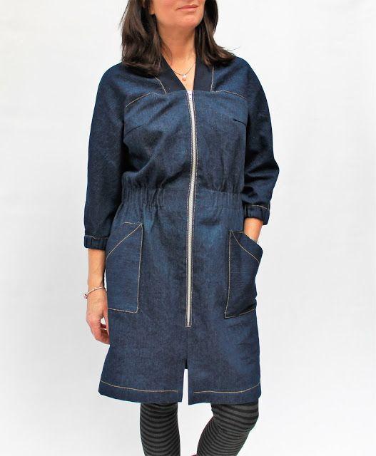 Beryl Bomber Dress by Meggipeg
