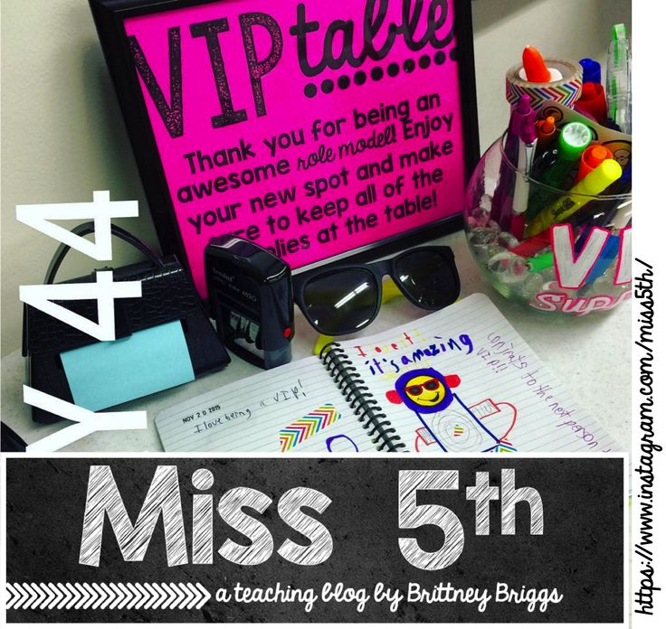Blog Hoppin': Revisiting the VIP Table