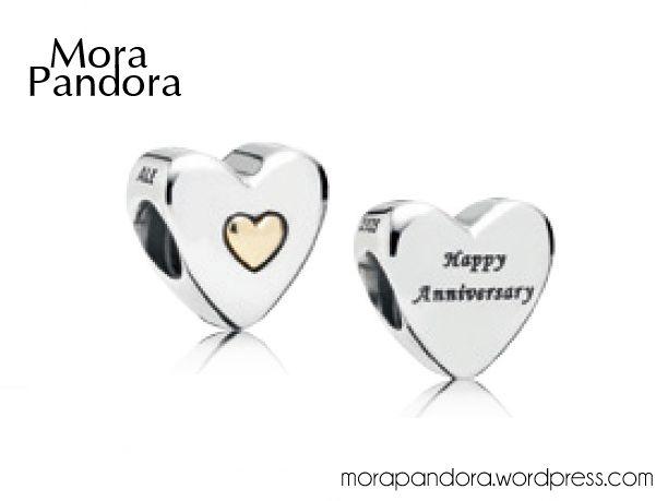 pandora 25 year anniversary charm