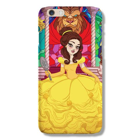 Belle iPhone 6 case from The Dairy www.thedairy.com #TheDairy #PhoneCase #iPhone6 #iPhone6case
