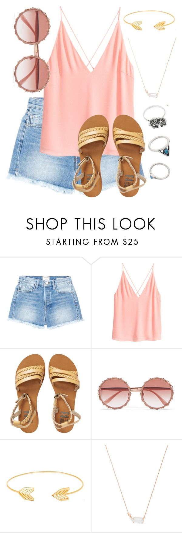 """What Should I Wear Today?"" by madisoncorell ❤ liked on Polyvore featuring Frame, Billabong, Dolce&Gabbana, Lord & Taylor and Kendra Scott"