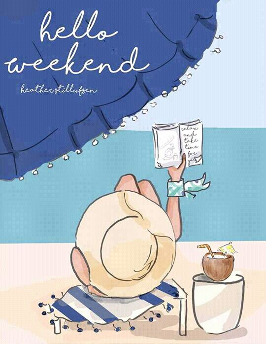 Let the long weekend at the beach begin!!