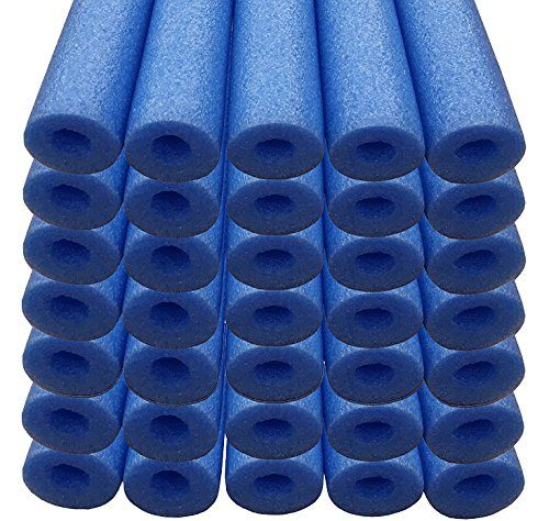 Oodles of Noodles Bulk Wholesale Deluxe Foam Swimming Pool Noodles (35 PACK) Blue