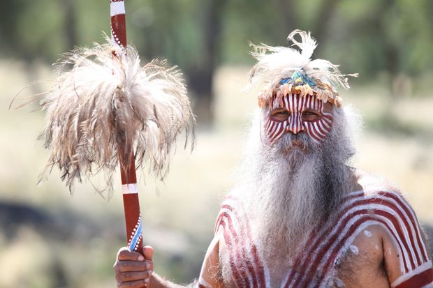 Aboriginal river dance performed - Australian Geographic