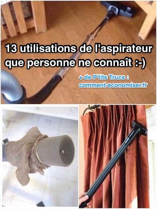 13 Utilisations de l'Aspirateur Que PERSONNE Ne Connaît.