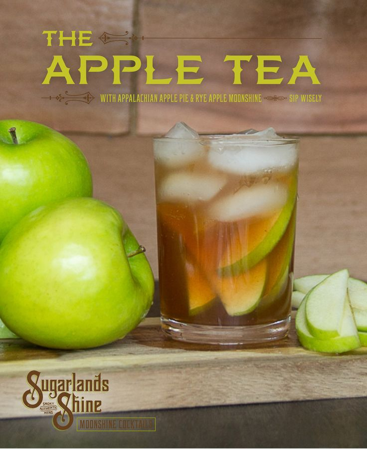 Moonshine Cocktail Recipe | Apple Tea | Apple Pie Moonshine |