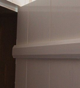 sinkade trälådor & skenor i björk, oljefernissat och handmålat.Rönnerholms Inredning | Platsbyggda kök