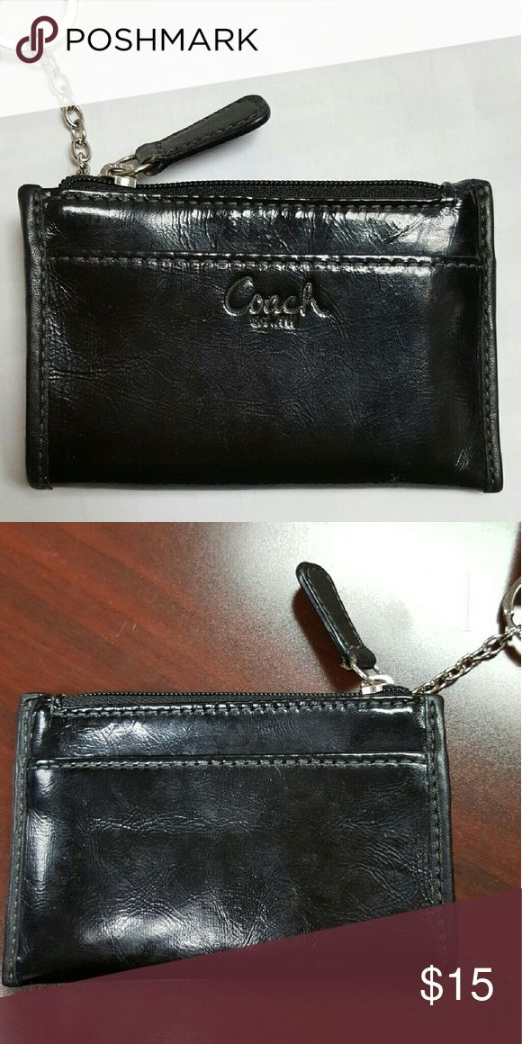 Coach Coin Purse Great condition  A cute & neat way to store the small & simple things  <3 Coach Bags Clutches & Wristlets