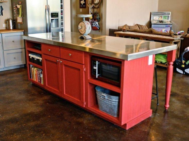 Beautiful Red Kitchen Cart Island Red Kitchen Small Apartment Kitchen Red Kitchen Cart