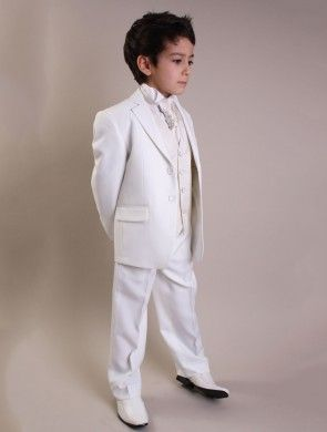 Boys ivory suit - Lanzo