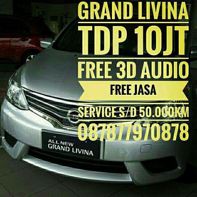 Saya menjual Nissan Grand Livina 1.5 SV Manual seharga Rp214.700.000. Dapatkan produk ini hanya di Shopee! https://shopee.co.id/pur08/721275254 #ShopeeID