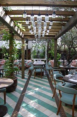 Ideas About Outdoor Restaurant Design On Pinterest - indoor beer garden design ideas