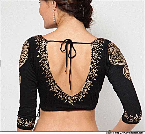 Neck Designs and Blouse Back Designs