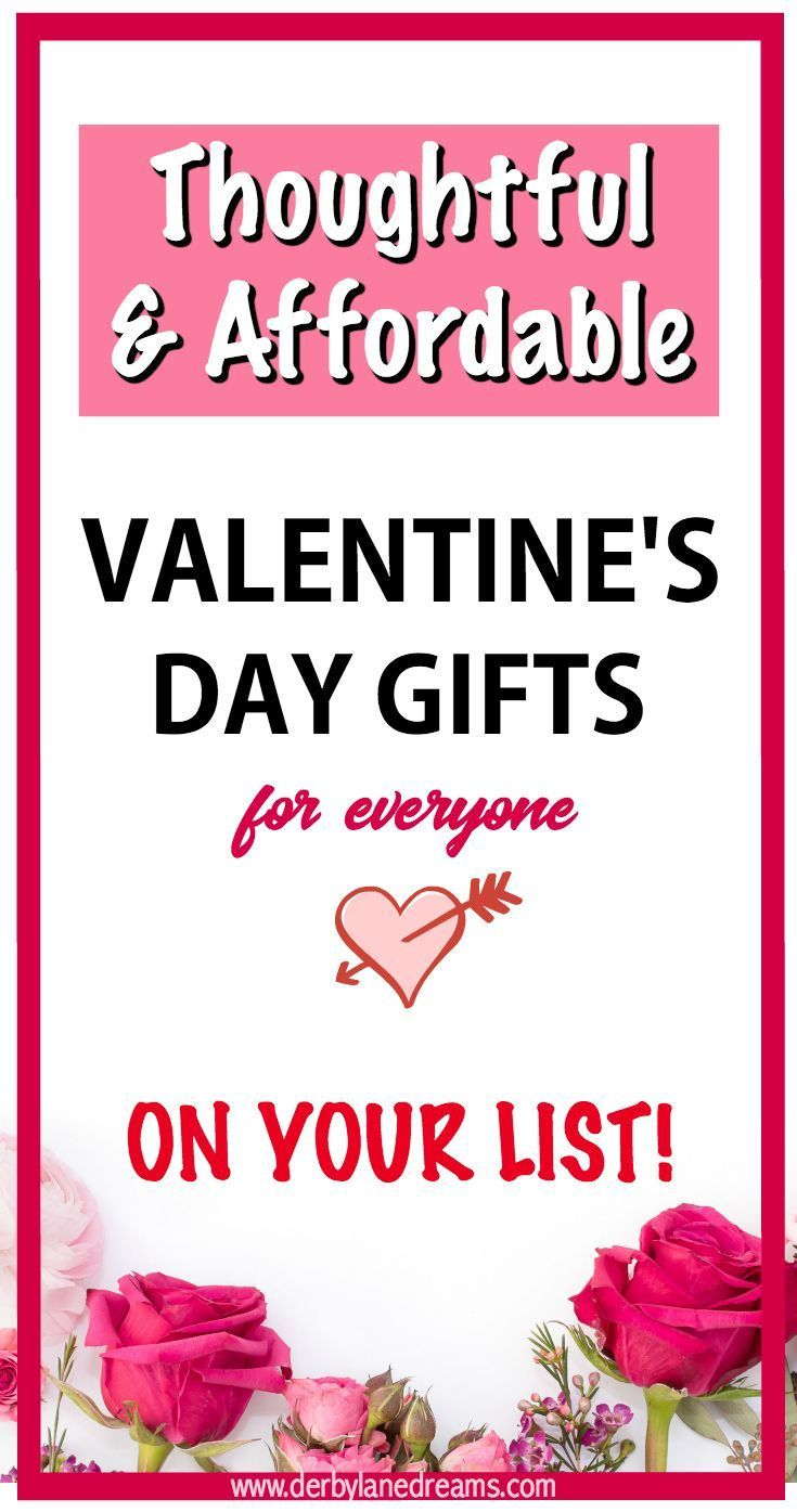 Valentine\'s Day Gift Ideas on a budget, cheap, easy, DIY, affordable ...