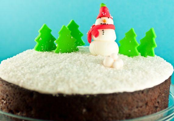 Nigella Lawsons - Chocolate Fruit Cake #christmas #christmasrecipes