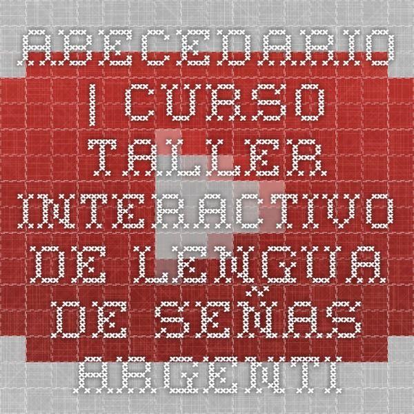 Abecedario | Curso Taller interactivo de Lengua de Señas Argentinas II | Subtitulado - YouTube