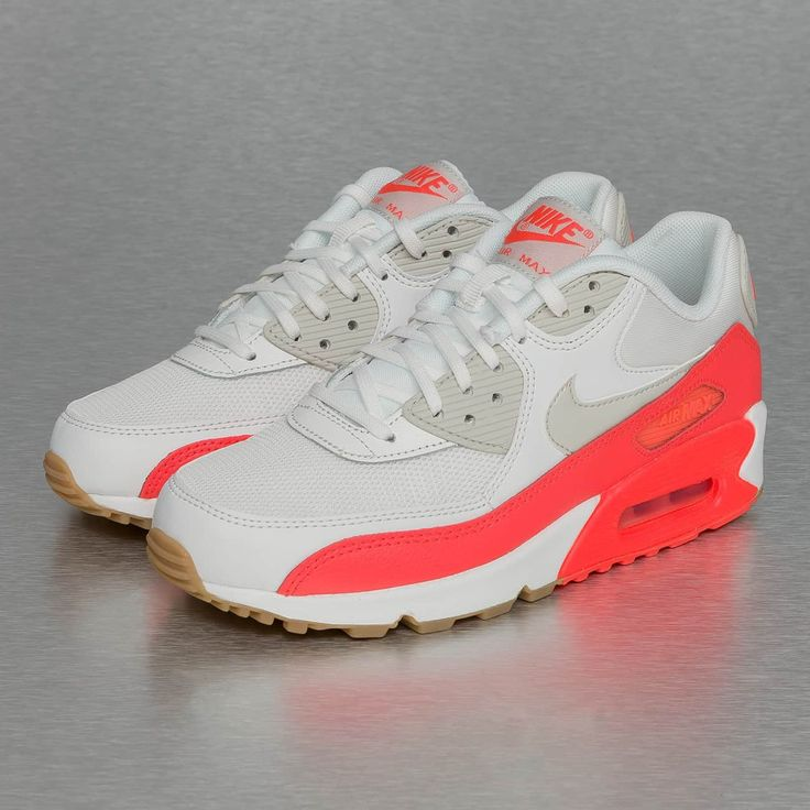 Nike Schuhe / Sneaker Air Max 90 Essential in weiß 256786