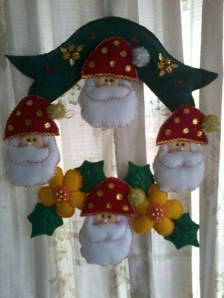 Mejores 1135 im genes de mu ecos de navidad en flis o pa o - Navidad adornos navidenos ...