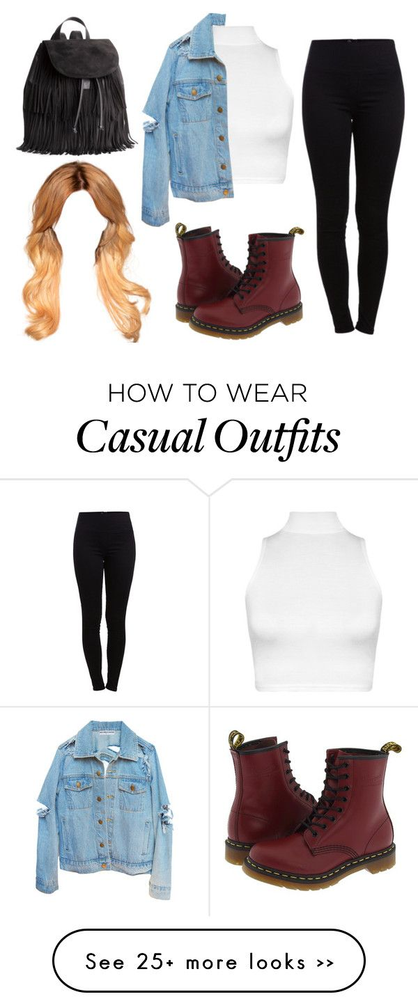 """College Casual"" by obey-princess-mona on Polyvore"
