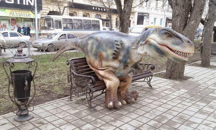 Доступное чтение: Парк юрского периода в Ставрополе