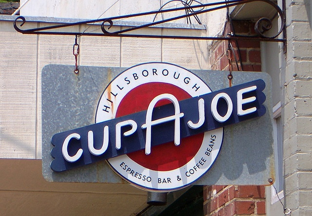 Cup A Joe: Some of the best coffee in Raleigh! Hillsborough, NC