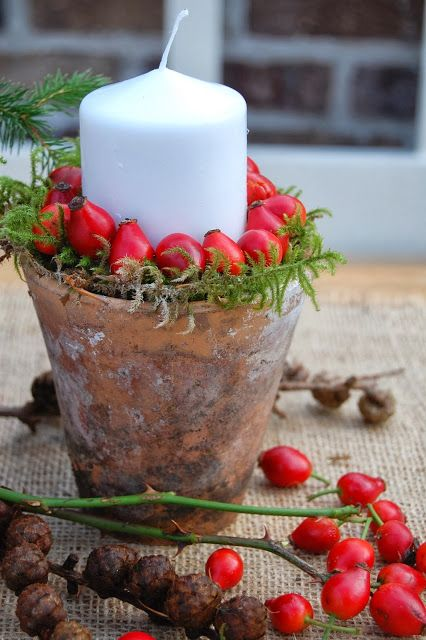pretty candleholder idea...
