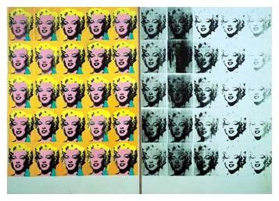 Andy Warhol - Marilyn Diptych, 1962