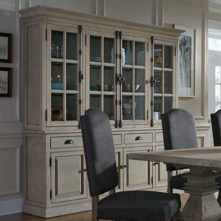 Dining Room Hutch Cabinet: 25+ Best Ideas About Built In Buffet On Pinterest