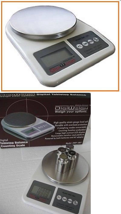 Pocket Digital Scales: Digital Table Top Scale 1000X0.1 Grams Balance Weigh Food Watch Diet Gn Ct Ounce BUY IT NOW ONLY: $34.99