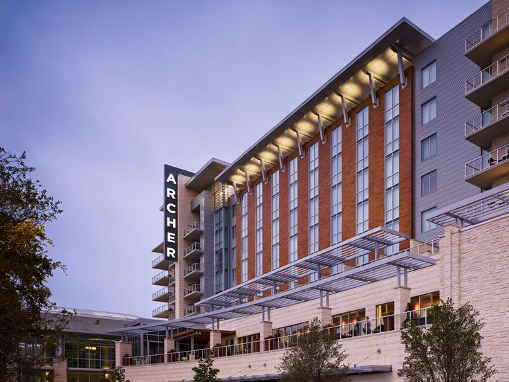 Guests at the new Archer hotel in Austin, Texas sleep securely knowing they are safe from the lightning storms that blow across the prairie.
