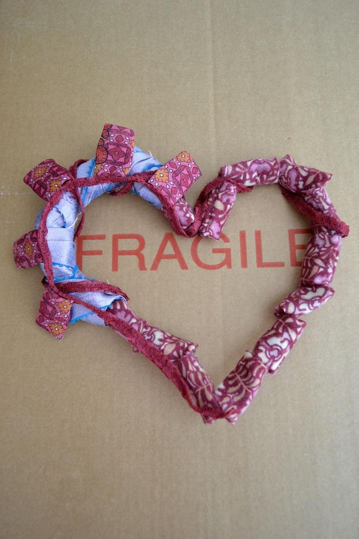 Il cuore fragile regalatoci da Michela di Flow-ers